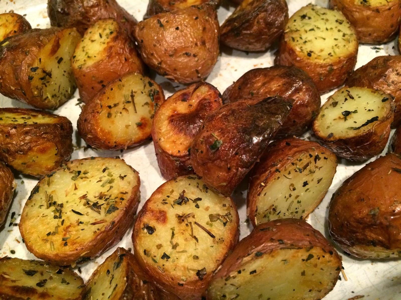 rode aardappel met schil