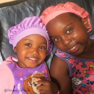How to Keep Bonnets on At Night for Natural Hair Kids AfricanNaturalistas DiscoveringNatural