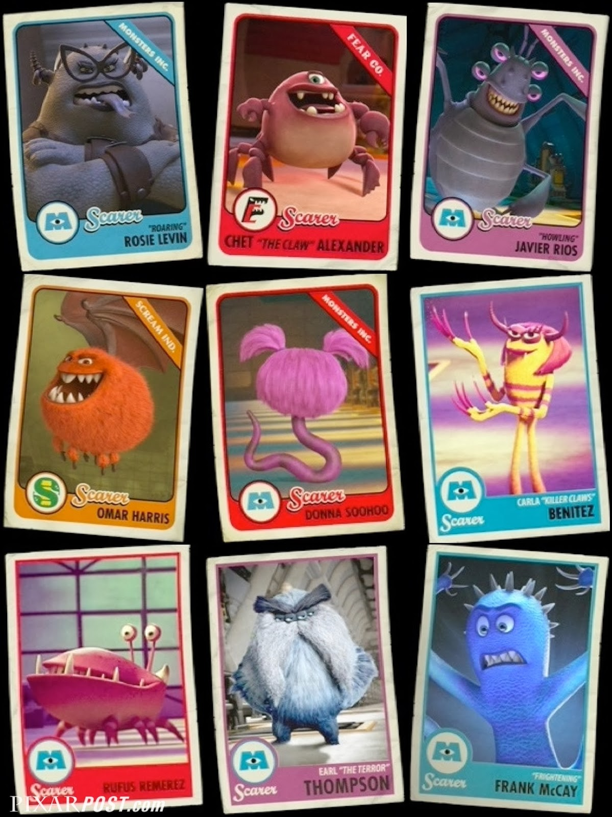 Monsters University Scare Cards - The Complete Guide | Pixar