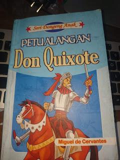 Resensi Novel Kesatria Sinting Don Quixote yang Menginspirasi