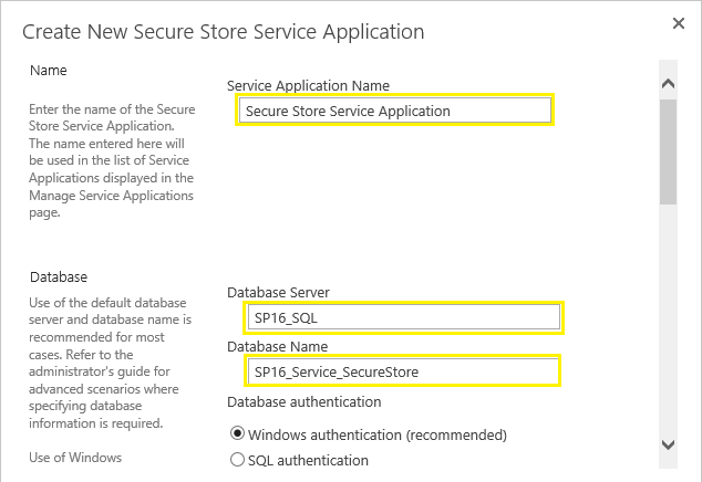 secure store service sharepoint 2013 step by step
