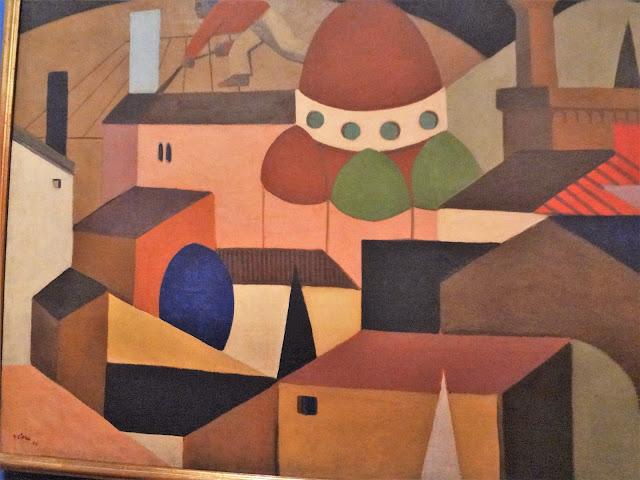 コロンビア国立博物館にあるUFOの絵画