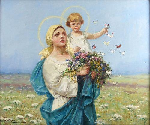 Znalezione obrazy dla zapytania matka boza zielna