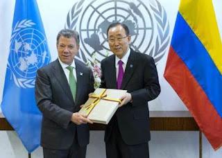 El Nobel de la Paz fue para el presidente de Colombia