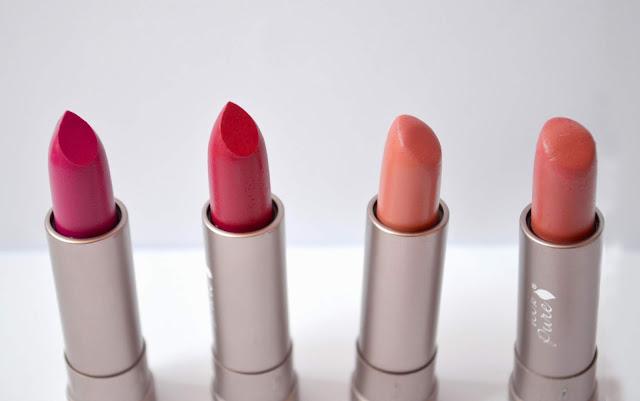 100 pure Marrakesh Protea mirage pink canyon lipstick