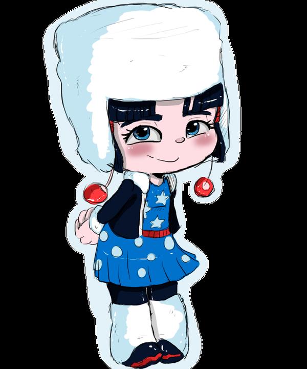 RENDER Adorabeezle Winterpop
