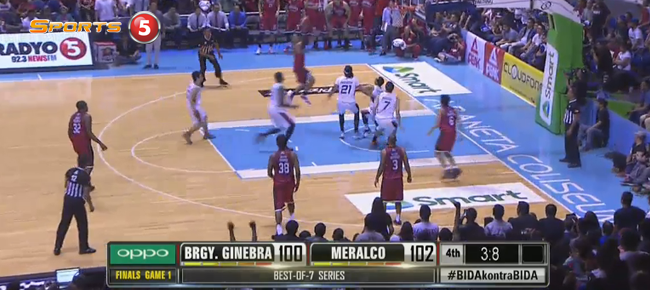 HIGHLIGHTS: Meralco vs. Ginebra (VIDEO) October 7 - Finals Game 1