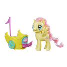 My Little Pony Royal Spin-Along Chariot Fluttershy Brushable Pony