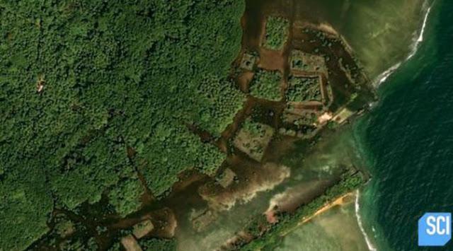 Kota misterius ini bernama Nan Madol