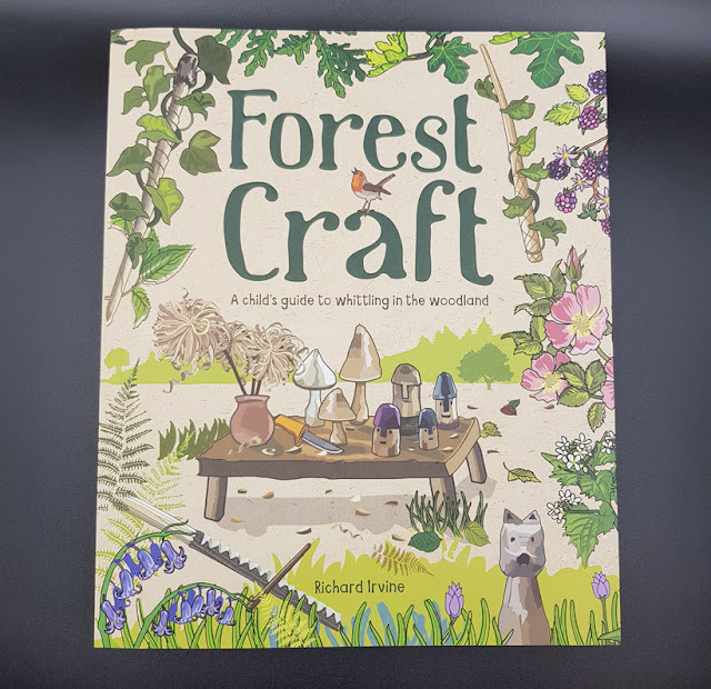 There 's a new craft book on the shelves for children who love the woodland and whittling