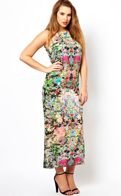 eb484cbc397a3 Watch the catwalk vid before you cast this floral maxi (£45.50) aside. It s  much floatier and soft than the photos indicate