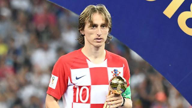 Jugador Fútbol Luka Modric