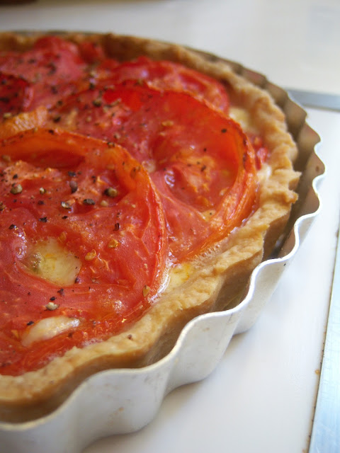 For The Love of Tomatoes! (Tomato Tart) | Just A Bit of Butter