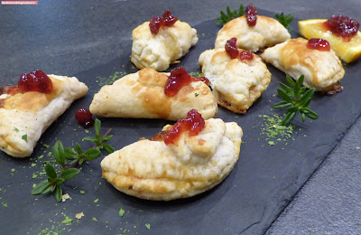 fischiscooking, camembert- täschchen, fingerfood