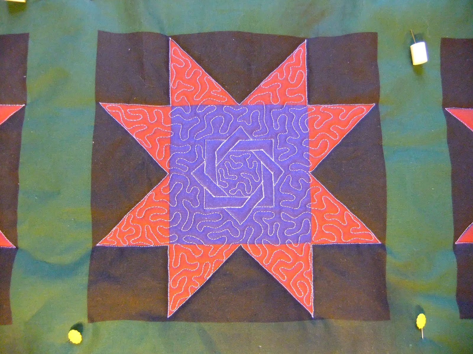 The Free Motion Quilting Project Quilt Along 5
