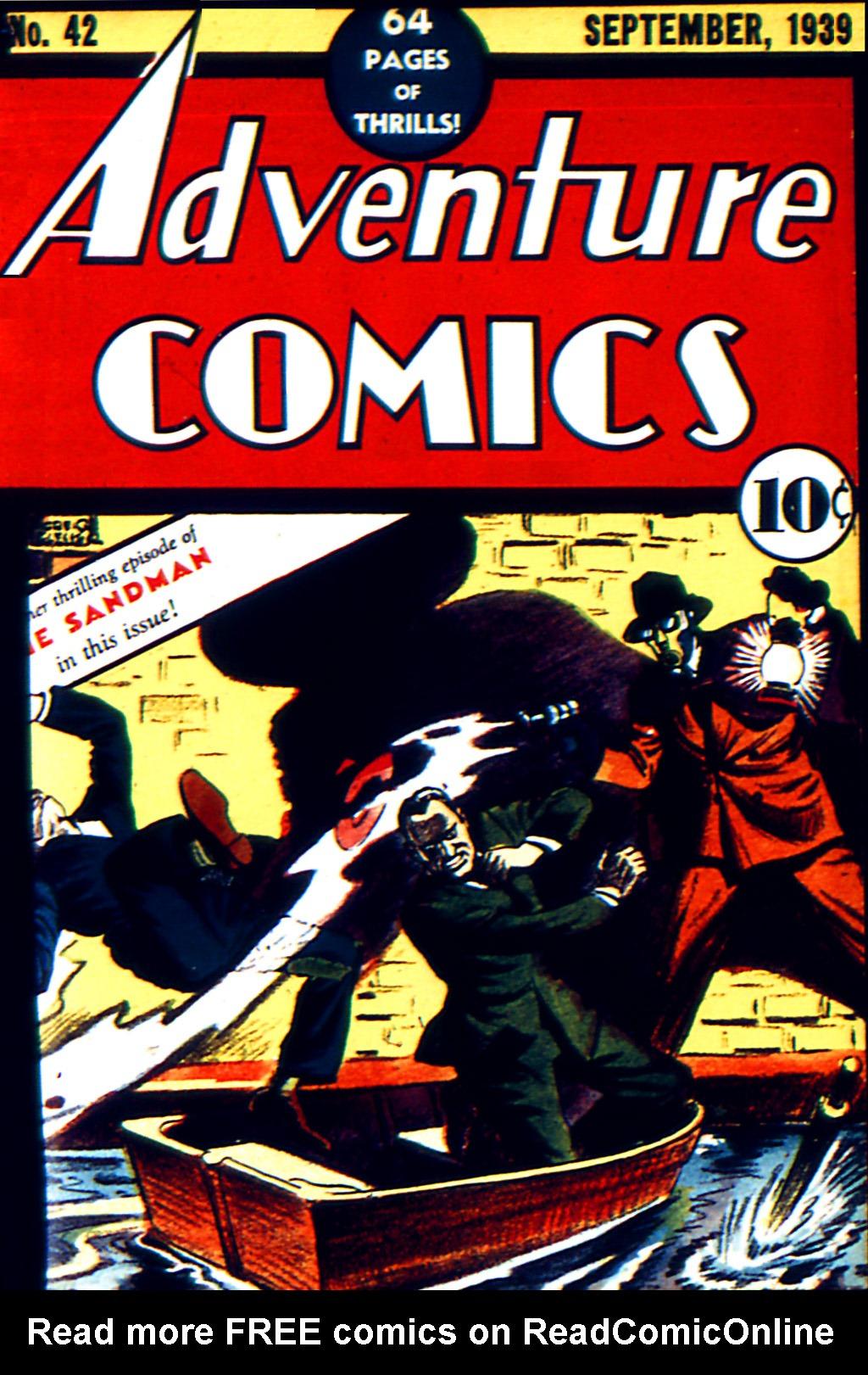 Adventure Comics (1938) 42 Page 1