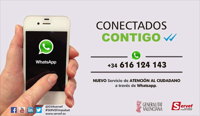 WHATSAPP SERVEF - LABORA