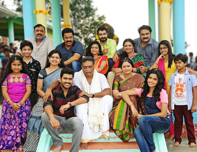 Shatamanam bhavathi Movie Working Stills