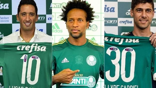 """Os acertos e erros das 50 contratações do Palmeiras na """"Era Mattos""""."""