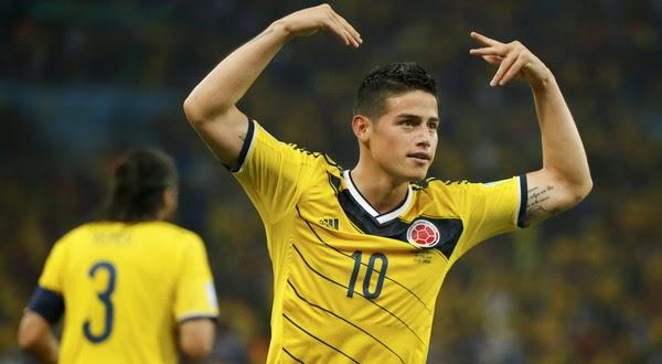 Profil Pemain Kolombia Ganteng James David Rodríguez Rubio