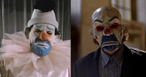 The Dark Knight  Joker Clown Mask With 1960s Version Video Comparison   Video  8677c37f78