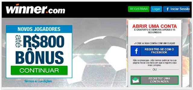 Winner casa de apostas Corinthians