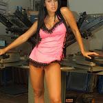 Andrea Rincon, Selena Spice Galeria 38 : Baby Doll Rosado, Tanga Rosada, Total Rosada Foto 77