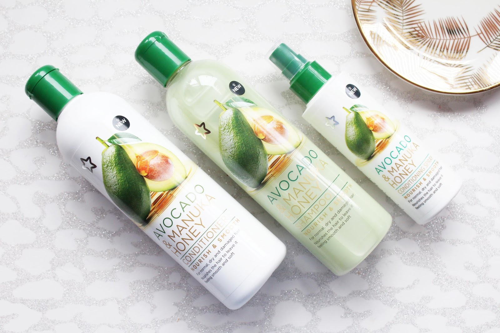Superdrug Avocado & Manuka Honey Hair Care