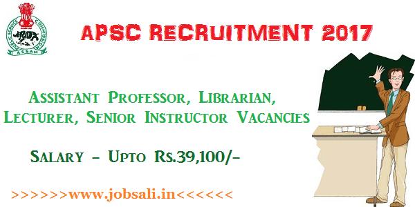 Assam Govt jobs, Teaching jobs in Assam, Assam Career