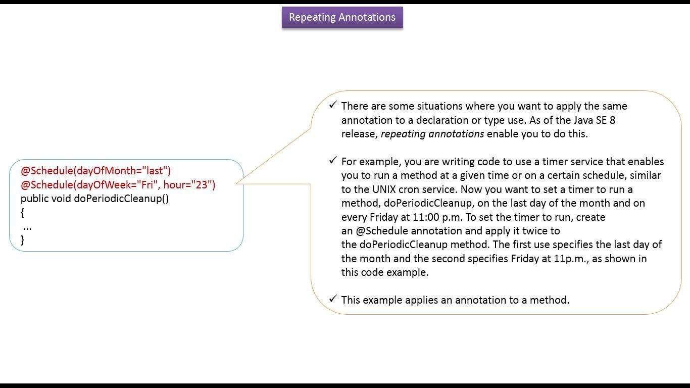 Java ee java tutorial annotations in java java annotations java tutorial annotations in java java annotations why to use repeating annotations in java baditri Gallery