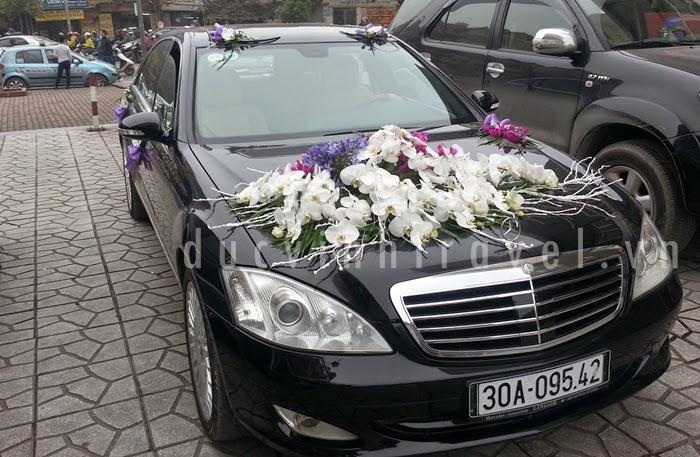 Địa chỉ cho thuê xe cưới Mercedes Uy tín
