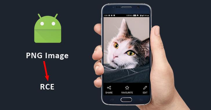 Los teléfonos Android pueden ser pirateados solo con mirar una imagen PNG