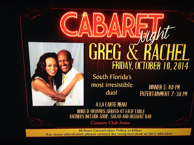 Greg and Rachel: Stonebridge Country Club Cabaret 10/10/14