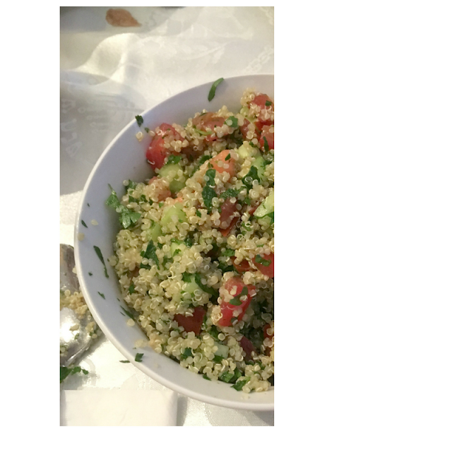 summer vegetable tabbouleh