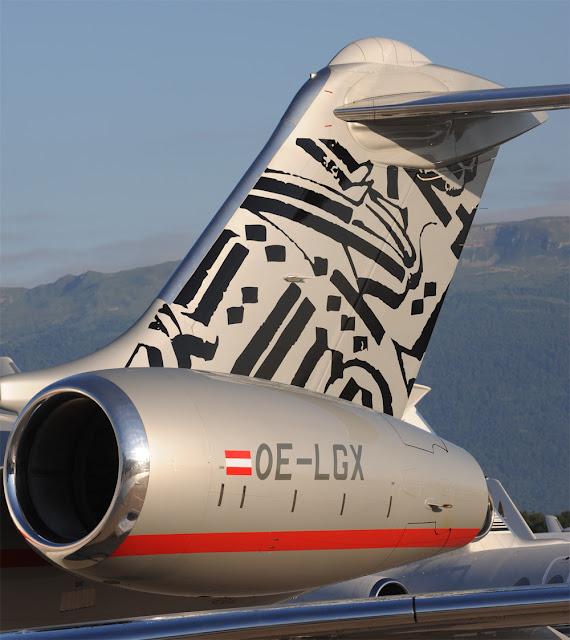 Street Artist RETNA Paints A $60 Million Jet