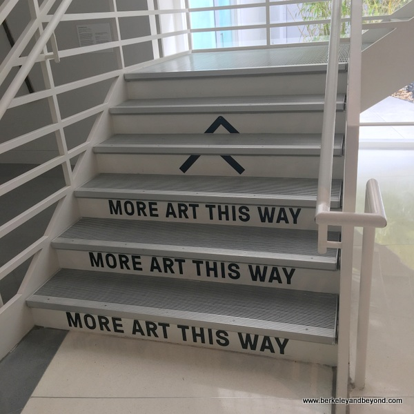 stairway at Yerba Buena Center for the Arts in San Francisco, California