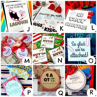 100+ Free Valentine Printables @michellepaigeblogs.com
