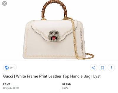 Chika Ike flaunts her over $4k Gucci bag