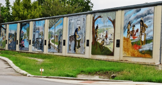 Ingram, Texas: An Old Town with Art - Sept. 22, 2018