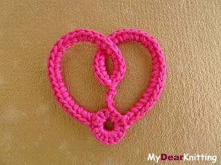 crochet heart undestandable pattern