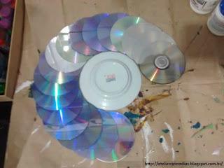 Guirlanda com CDs-01