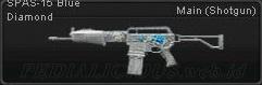 SPAS-15 Blue Diamond