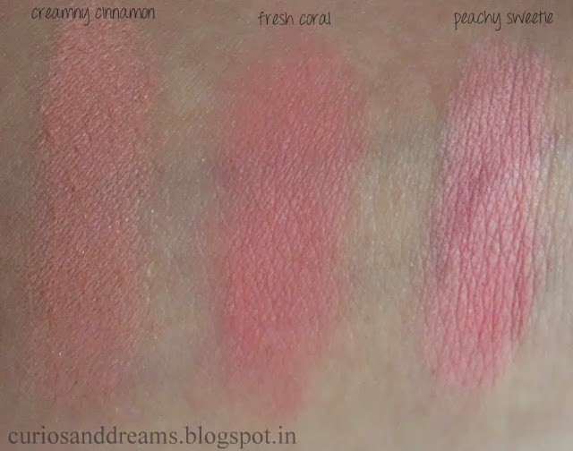 Maybelline Cheeky Glow Blush review, Maybelline Cheeky Glow Blush swatch, Maybelline Cheeky Glow Blush fresh coral review, Maybelline Cheeky Glow Blush peachy sweetie review, Maybelline Cheeky Glow Blush creamy cinnamon review