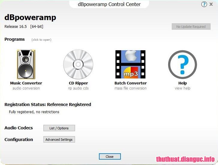 Download dBpoweramp Music Converter R16.6 Full Cr@ck