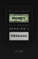 It's not about money, it's about sending a message