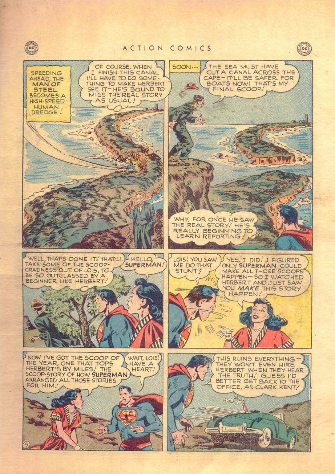 Read online Action Comics (1938) comic -  Issue #138 - 10