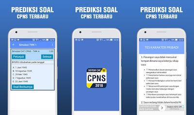 Aplikasi Soal CPNS 2018
