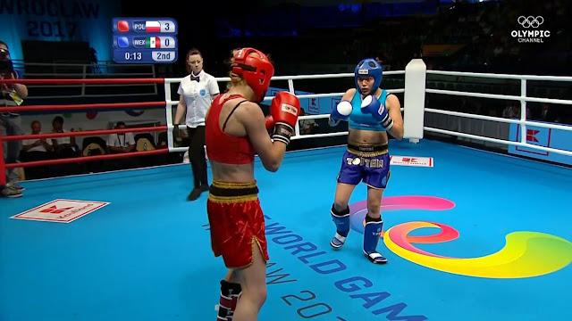 Melissa Martínez dio la plata para México en Kickboxing de Juegos Mundiales 2017