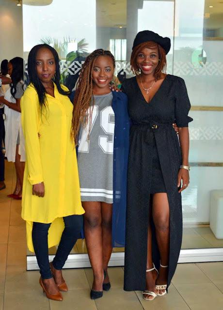 Olamide Olarewaju, Deola Adebiyi and Desola Maku