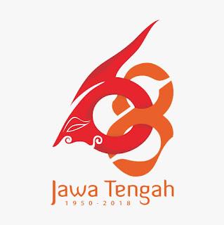 Logo HUT Jawa Tengah 2018